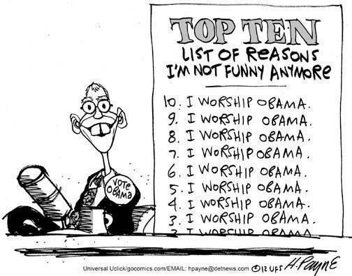 Cartoon - Top Ten Reasons David Letterman Sucks