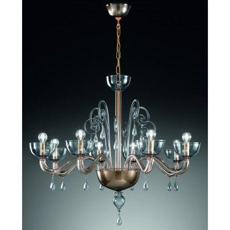 Murano Artistic Glass Chandelier Murano Glass Chandelier Glass