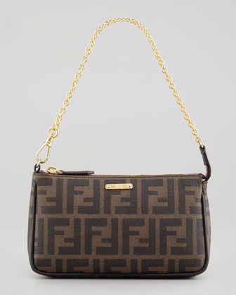 Mini Chain-Strap Zucca Pochette Bag 03045e3863f14