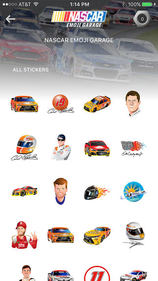 Calling All Nascar Fans The Nascar Emoji Garage Is Here Check Out This First Of Its Kind Collection Of Tradeable And Collectable Nascar Emo Emoji Nascar App