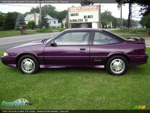1 1994 Chevrolet Cavalier Z24 Pretty Close Not My Photo