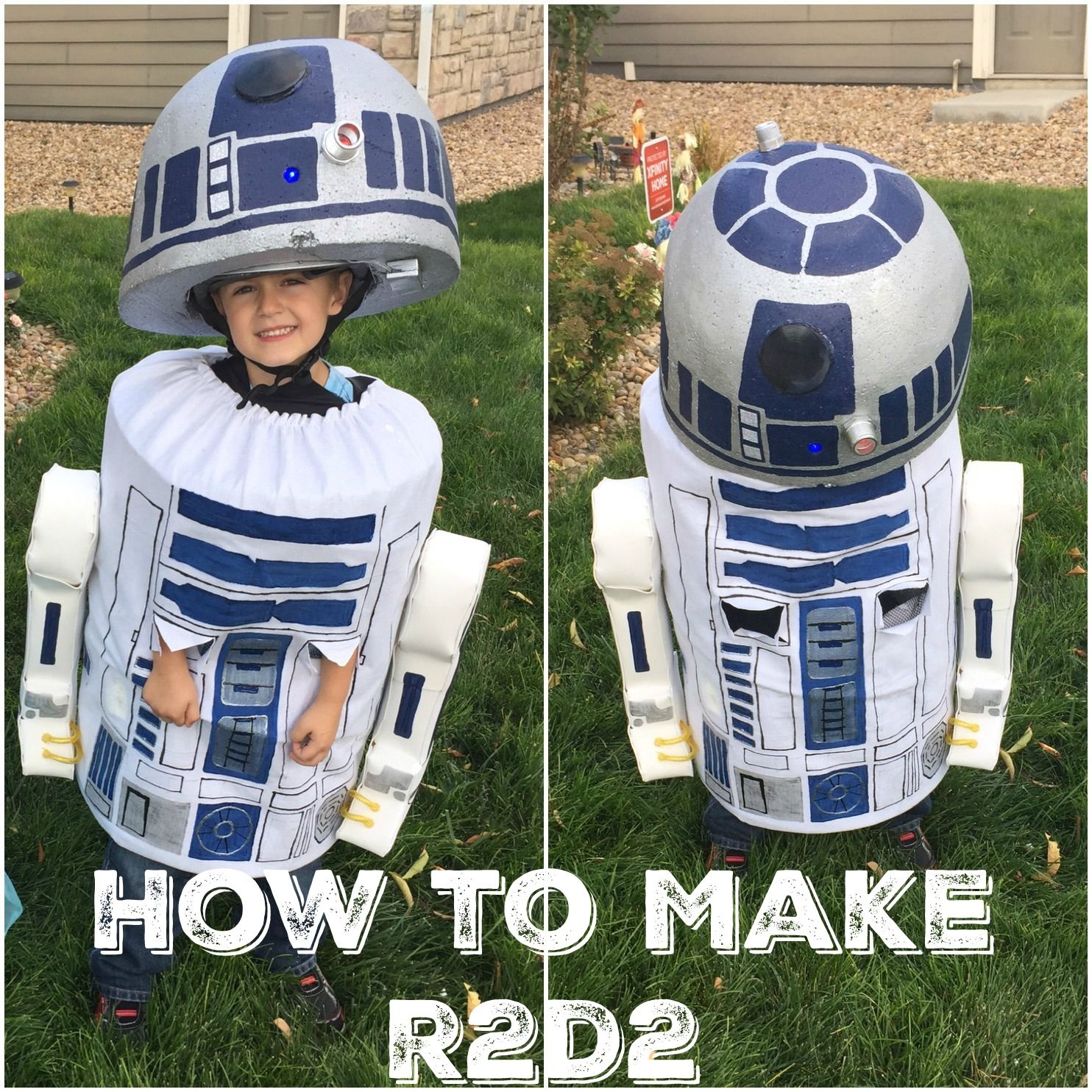 R2D2 Costume Tutorial And Instructions
