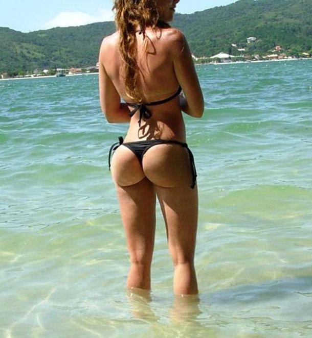 hot girl with nice ass bubble butt beach | beautiful women