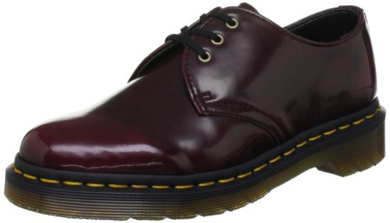 Chaussures Dr. Martens Vegan rouge cerise unisexe Lw2UCevVt7