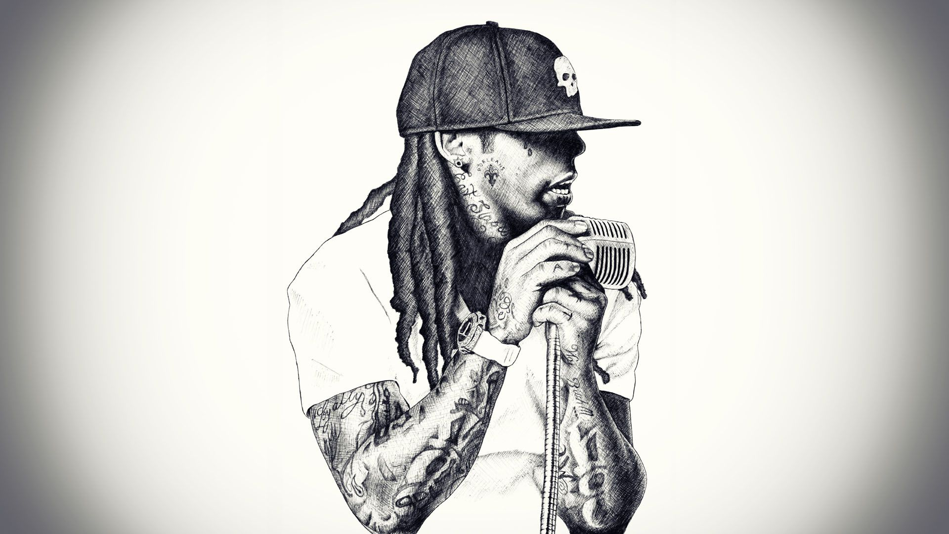 Lil Wayne Wallpapers App Store Revenue Download Estimates Us 1920 1080 Lil Wayne Backgrounds 40 Wallpapers Hip Hop Background Lil Wayne Music Wallpaper