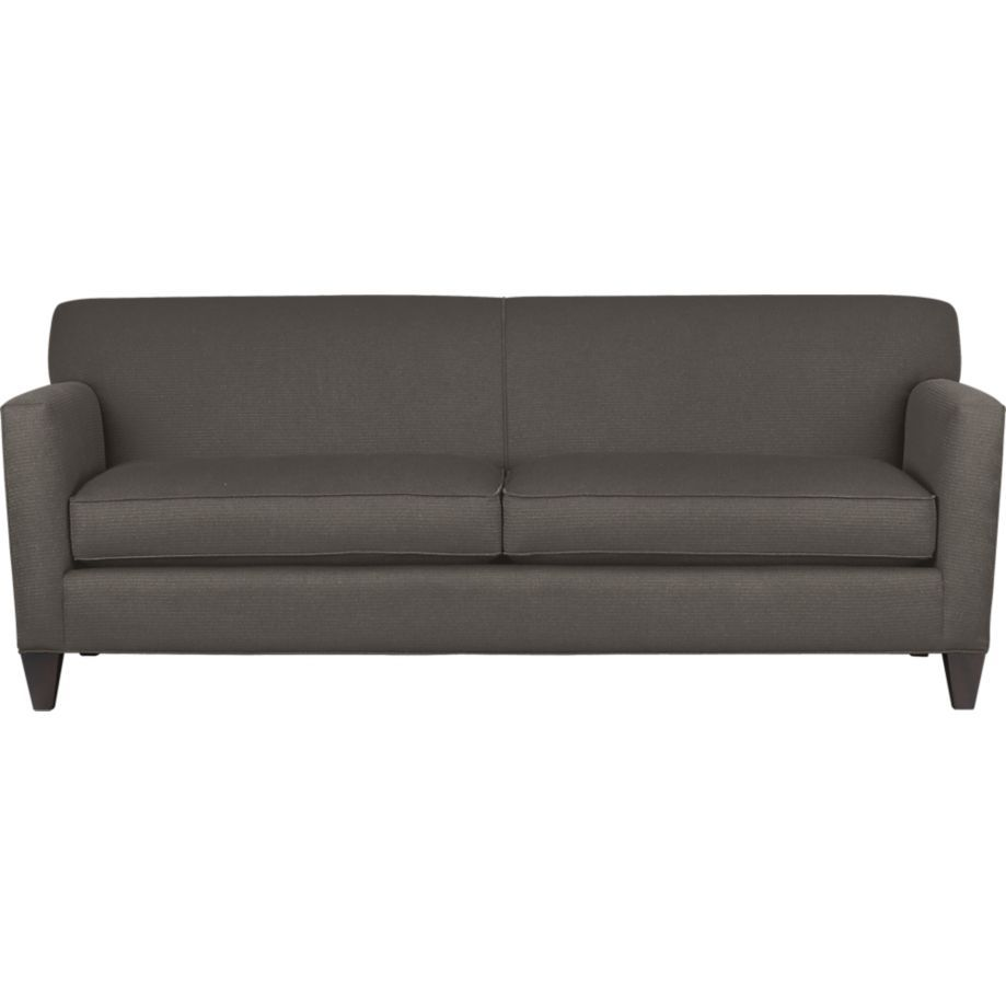 Hennessy Sofa In Sofas Crate And Barrel Sofa Furniture Design Living Room Furniture
