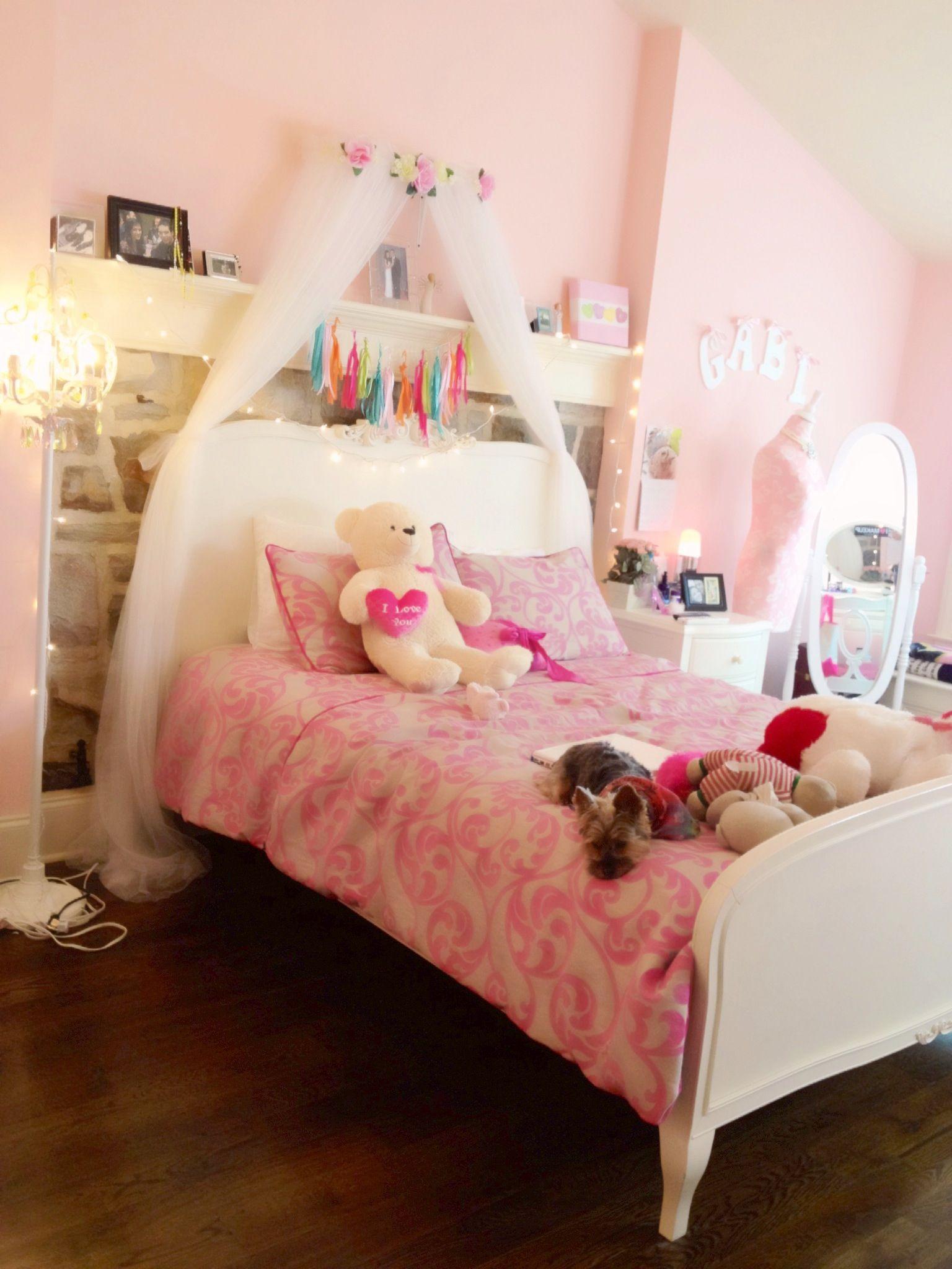 Little Girls Dream Bedroom Youtubecom Nikiandgabibeauty I Love Gabis Room Roooooms