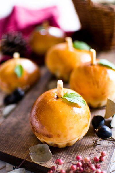 Photo of 「手のひらサイズの可愛いりんごパン」chiyo | お菓子・パンのレシピや作り方【cotta*コッタ】