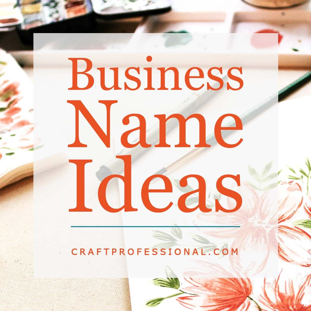 Marketing Ideas for Small Businesses New business names