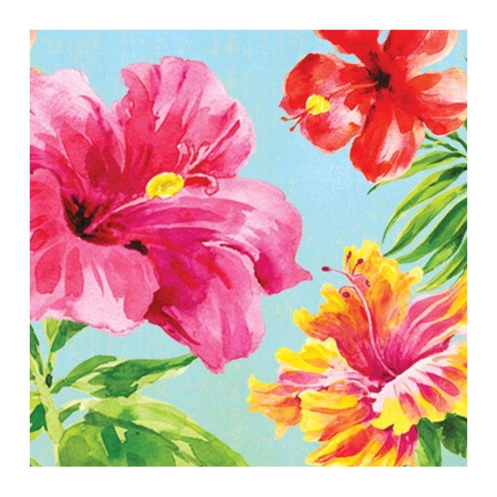 Descriptions bn 1036ct 2p heavenly hibiscu design heavenly heavenly hibiscus beverage napkins 2 ply mid countcase of 360 izmirmasajfo Choice Image