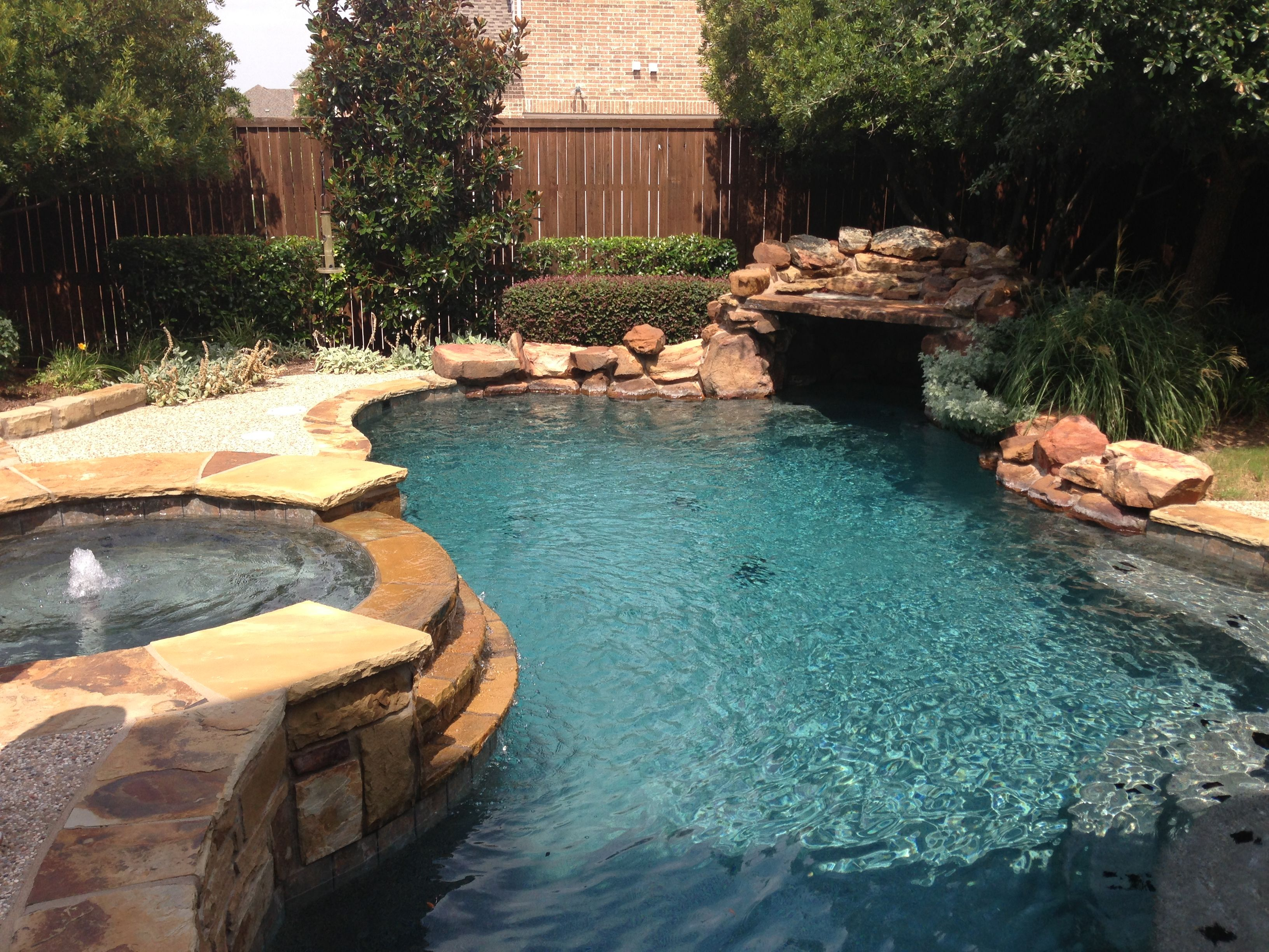 Inground Pool Patio Designs narrow pool with hot tub firepit great for small spaces Httpwww Frisco Tx Homes For Sale Comwp Contentuploads201308 Learn More At Com Small Inground Pool