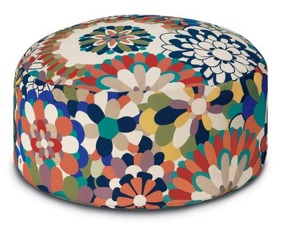Modern Floral Pouf By Missoni Gorgeous For Home Pinterest Home Poufs And Floral