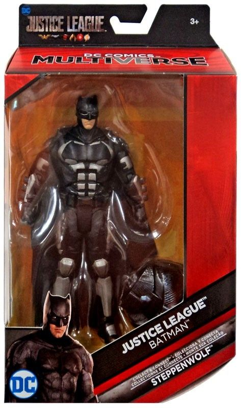 Dc Justice League Movie Multiverse Steppenwolf Series Batman Action Figure Batman Action Figures Batman Figures Action Figures