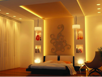 Pin by spaciux on false ceiling design pinterest ceilings bedrooms and bed room Pop in master bedroom
