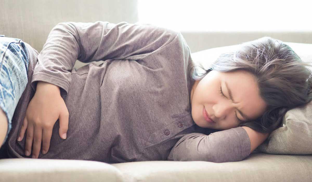 أعراض التهاب بطانة الرحم بعد الولادة القيصرية Abdominal Discomfort Abdominal Intestine Problems