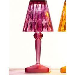 Photo of Kartell Led Tisch-Spot Batterie lila, Designer Ferruccio Laviani, 22x13x13 cmCairo.de