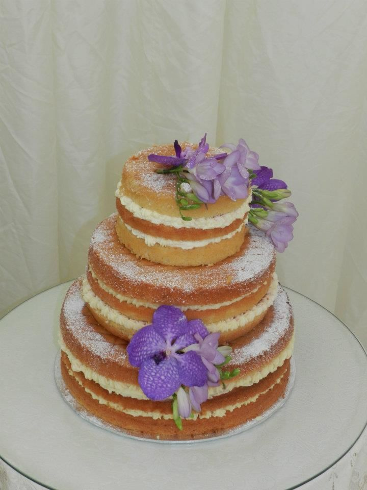 kakku ilman kuorrutetta