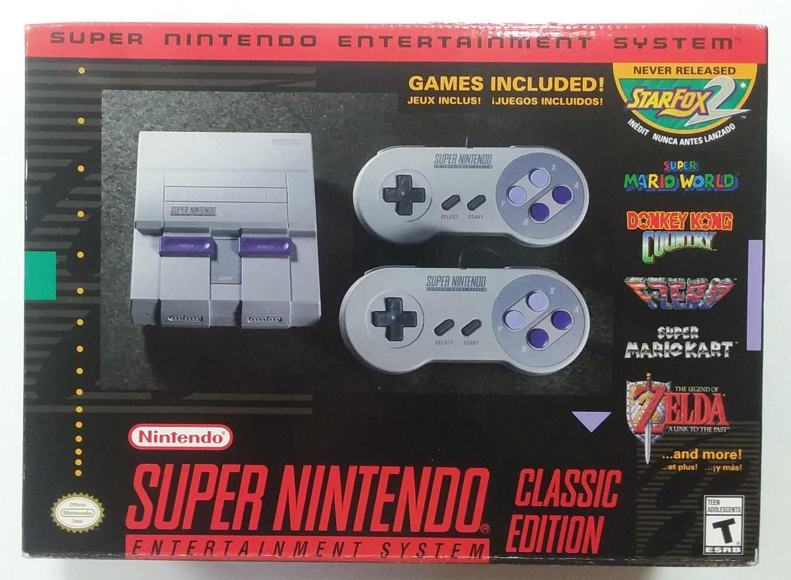 Videogames Gamers Nintendo Classic Mini New Super Nintendo