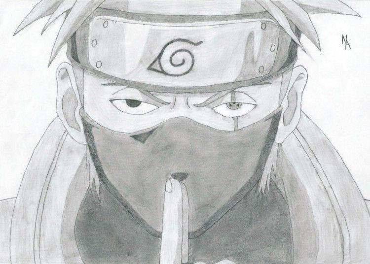 Naruto Dessin Facile Kakashi Dessin Facile