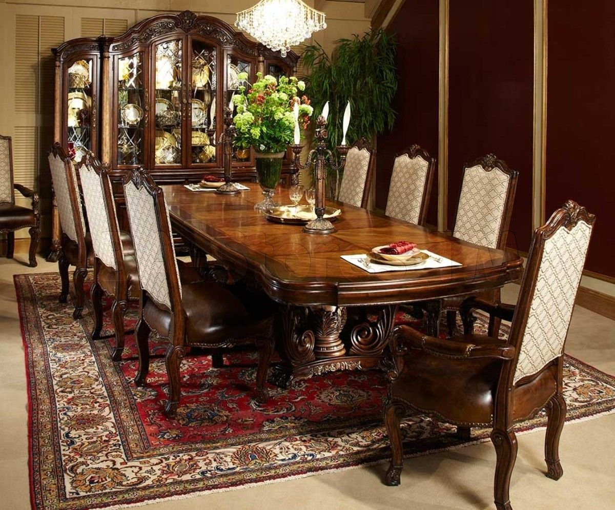 Victoria Palace 10 Pc Rectangular Dining Set By Michael Amini