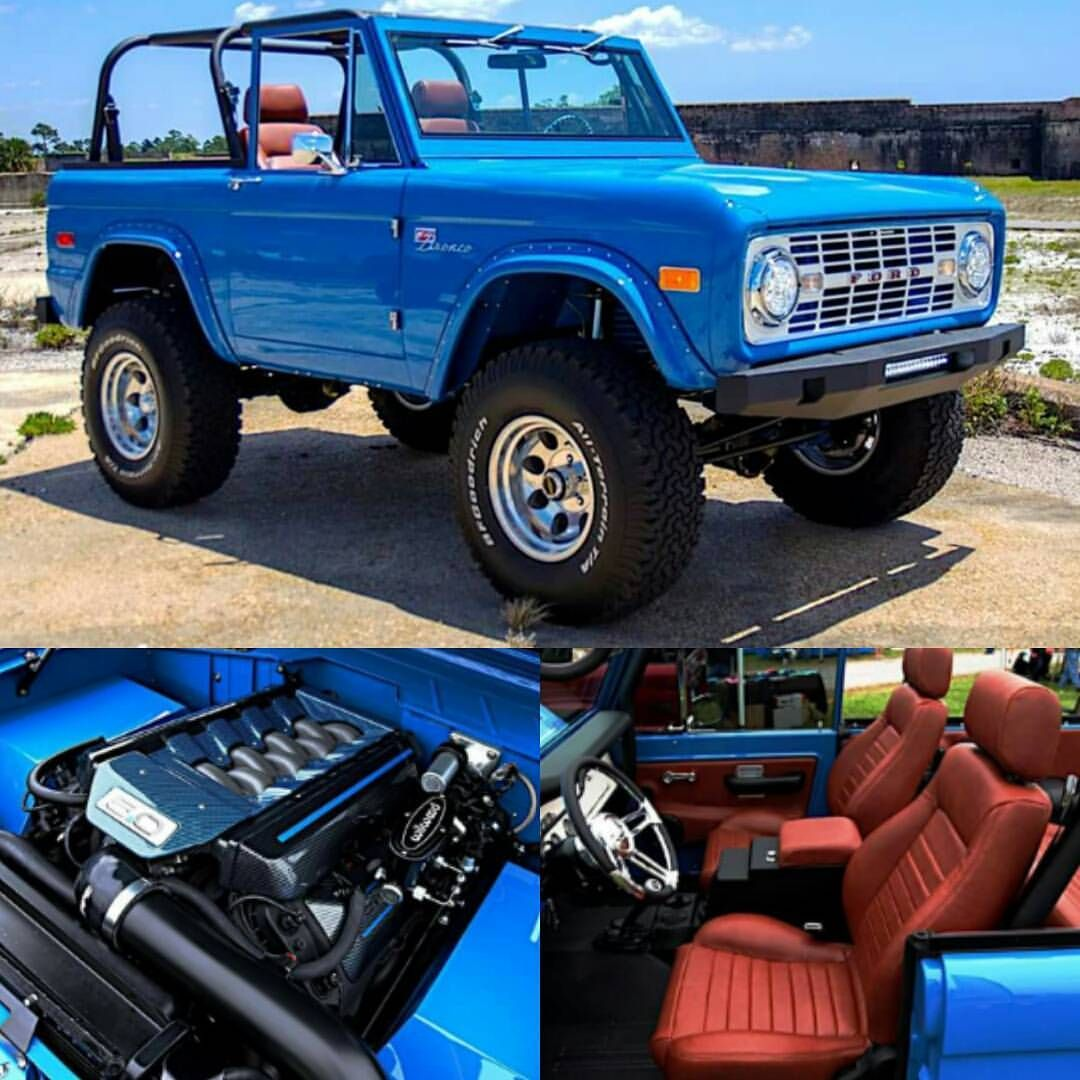 Coyote Powered Bronco Ford Bronco Classic Ford Broncos Ford