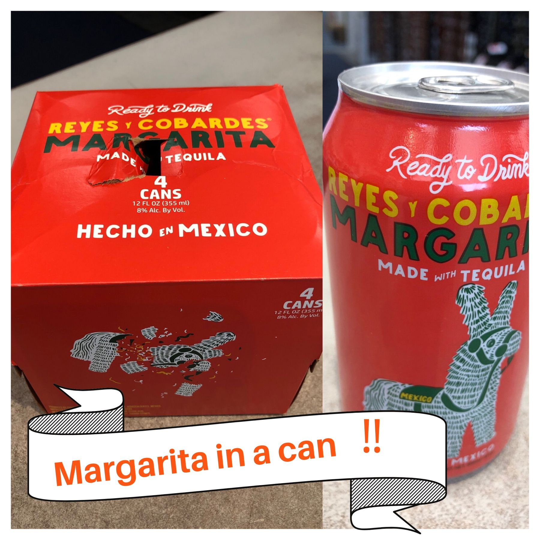 New Item Margarita In A Can Reyes Y Cobardes In 2020 Margarita In A Can Canning Margarita