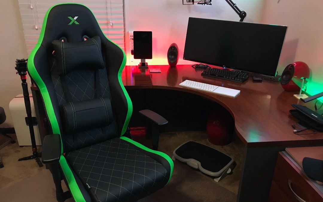 Rapid X Ferrino Xl Gaming Chair Review Gaming Chair Used Office