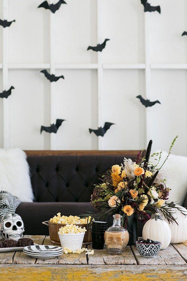 A Charming Halloween Movie Night Halloween movie night, Halloween - halloween movie ideas