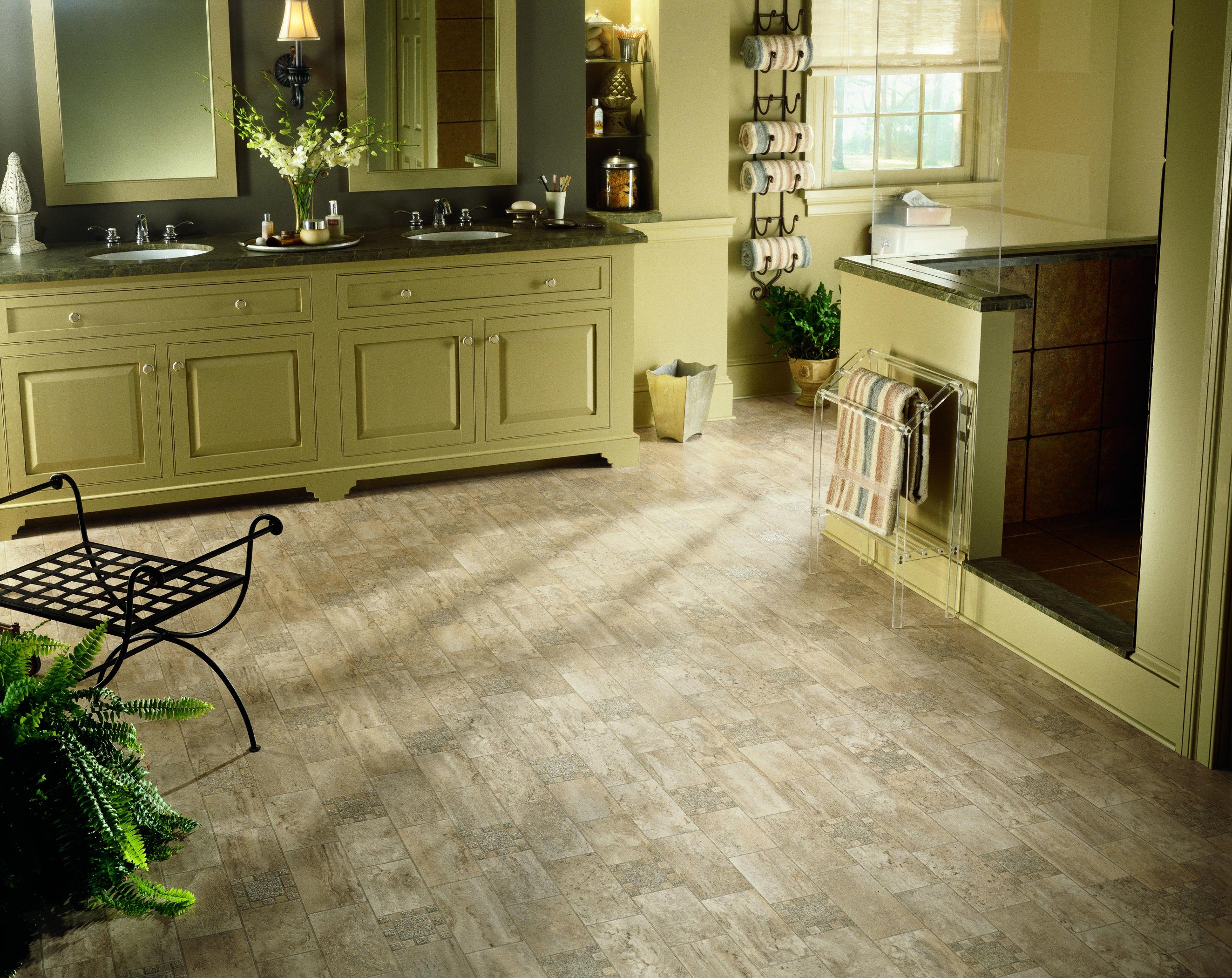 Armstrong Designer Solarian Stone Mosaic Vinyl Flooring Real Wood Tile