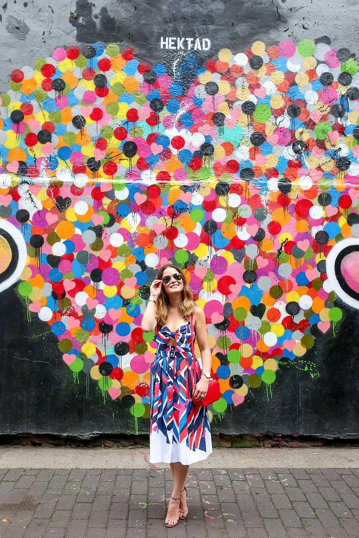 New York Street Art Murals Colorful Walls In 2019 Selfie Wall