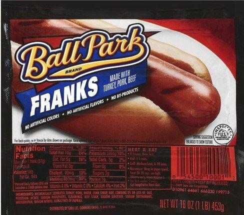 Ball Park Franks Only 0 70 At Kroger Ball Park Franks Hot Dog Recipes Target Food