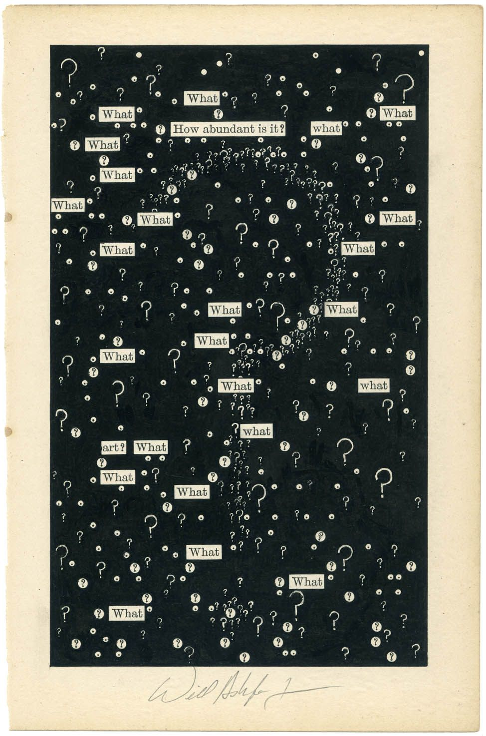visual-poetry:  by will ashford