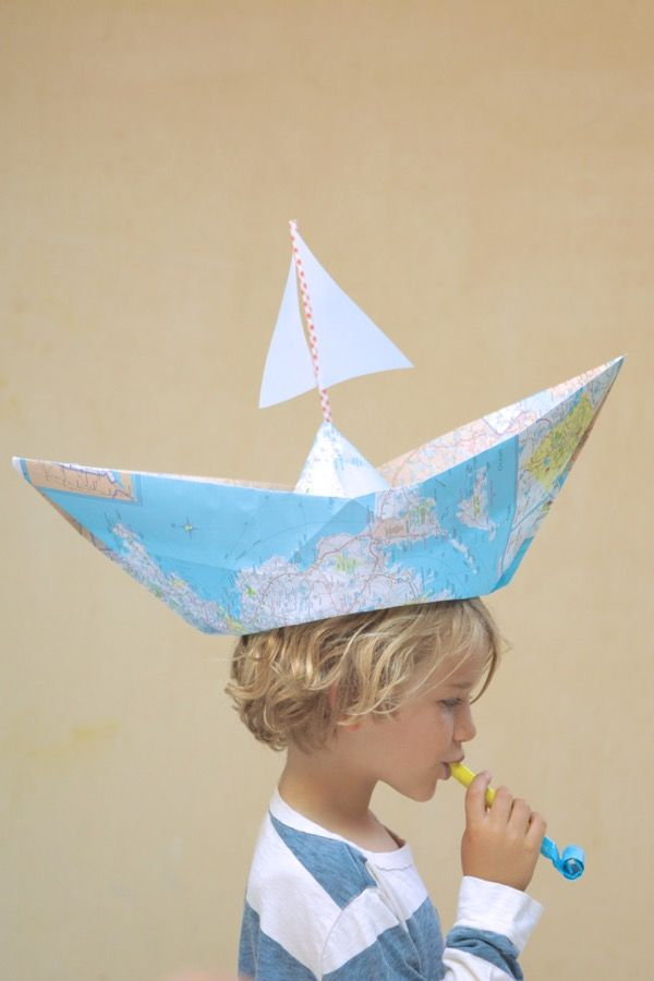 Map Boat Centerpieces Diy Oh Happy Day With Images Crazy