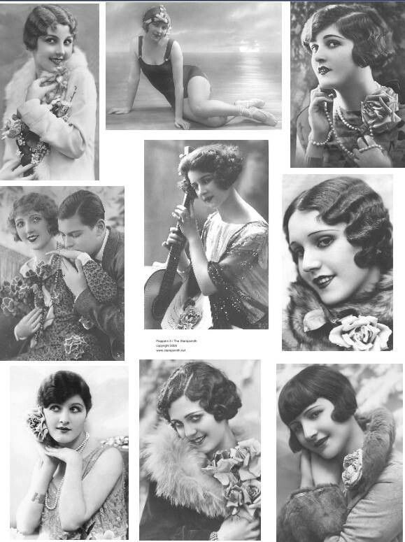 1920s 1930 hair | Moda \'30 | Pinterest | Frisur und Inspiration