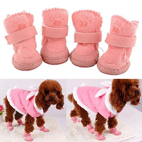 f209720c5ea9a Pin by Cheryl BITOY on Dogs I Like   Dog booties, Dog boots, Small ...