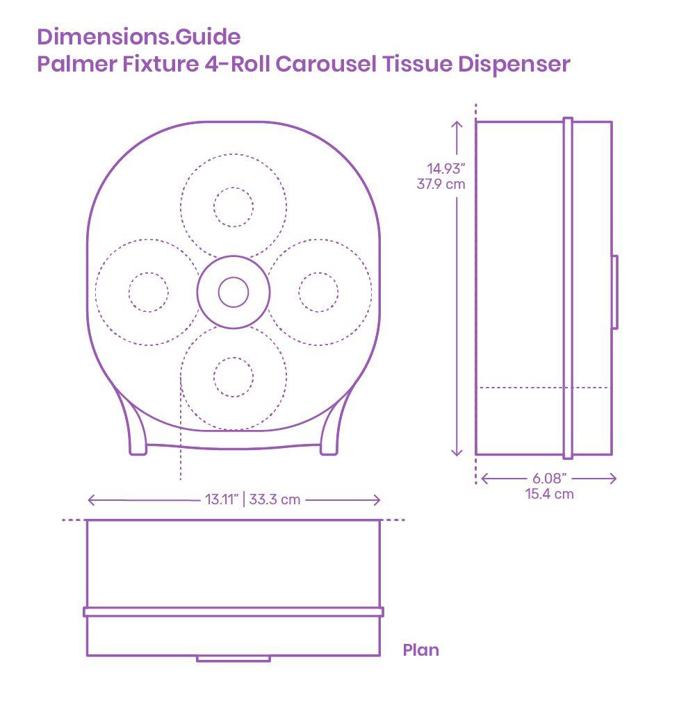 Palmer Fixture 4 Roll Carousel Tissue Dispenser In 2020 Fixtures Dispenser Tissue