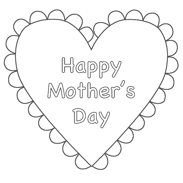 Happy Mothers Day Images Black and White | Happy Mothers Day | Pinterest