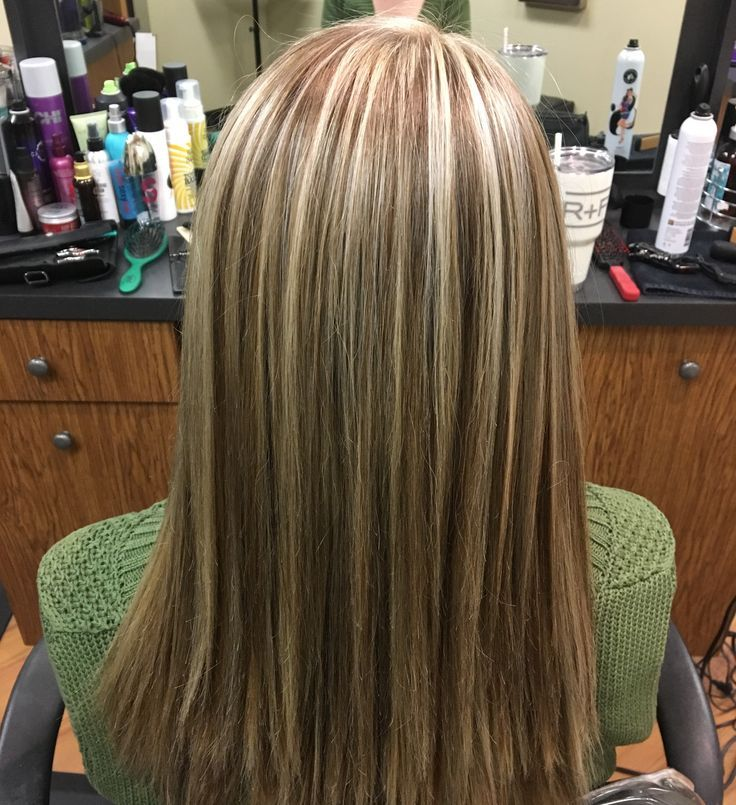 Light ash blonde highlights with medium brown lowlights   Done by Lindsey Gonzales -  - #Genel #lightashblonde