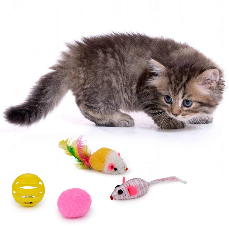 Legendog Cat Toys Set 22pcs Kitten Toys Variety Cat Toy Pack Cat