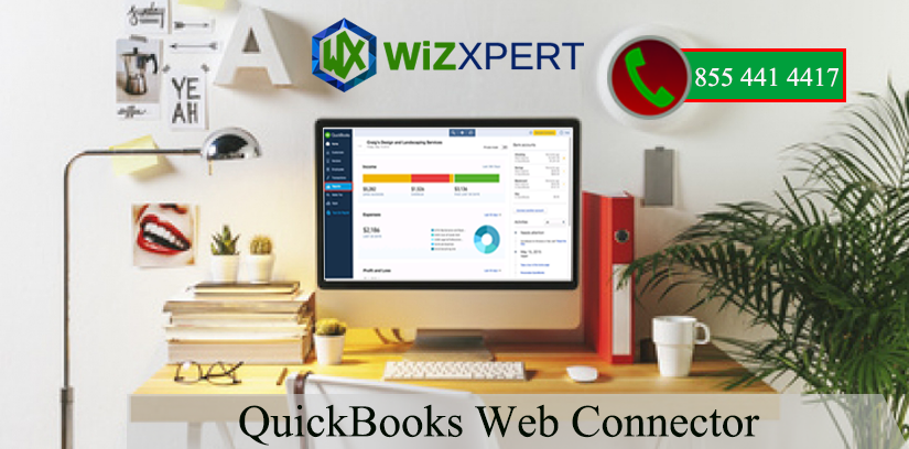 QuickBooks Web Connector is a application that allows qbXML