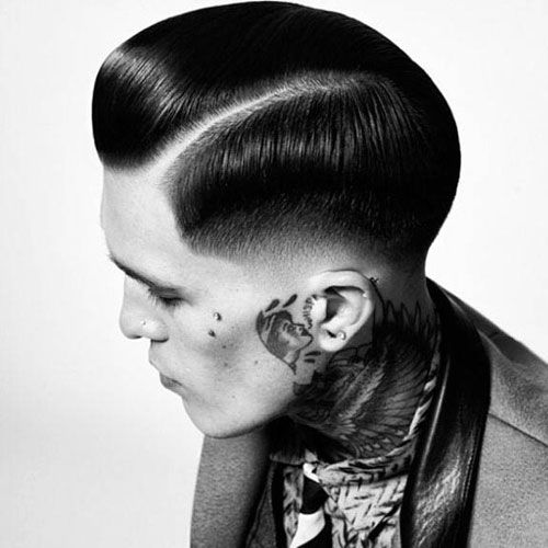 15 Best Rockabilly Hairstyles For Men Slick Hairstyles Drop Fade Haircut Mens Hairstyles