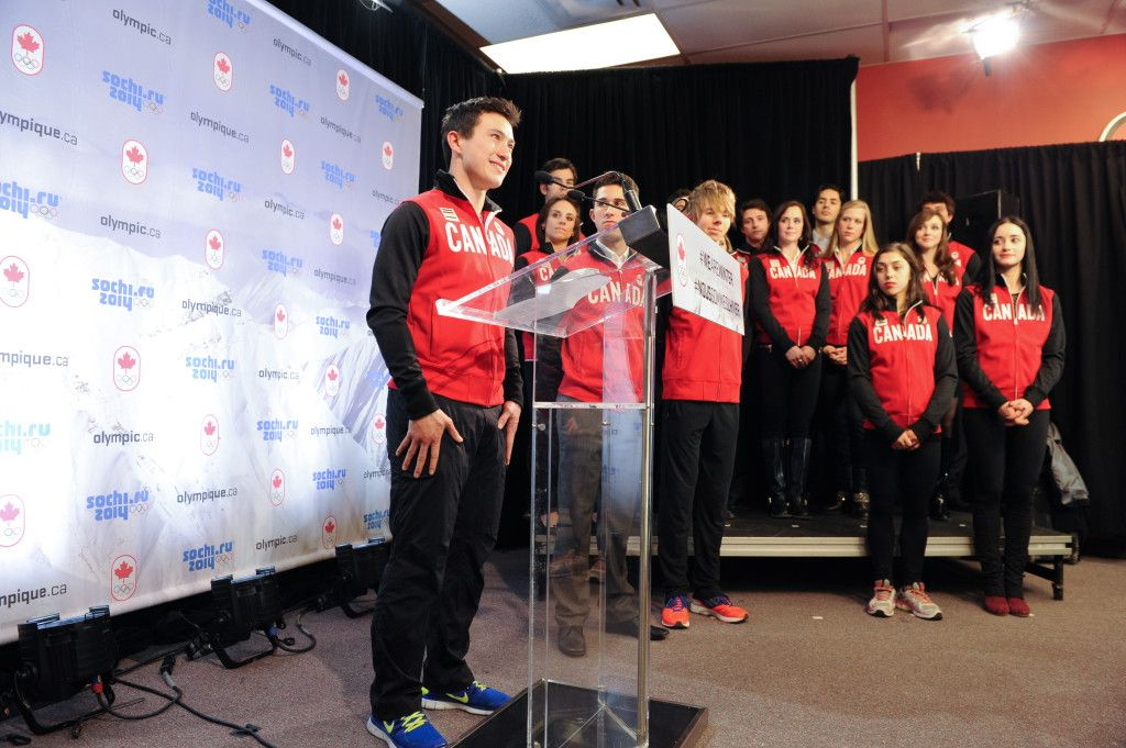 Olympic Team Announcement 2014 – Skate Canada