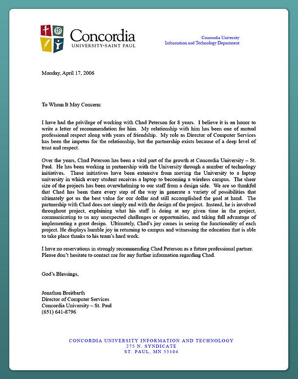Reference Letter Letters Business Example  Home Design Idea