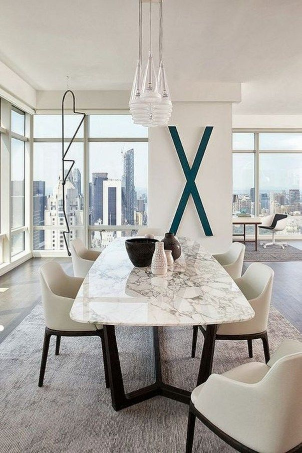 42 Popular Modern Dining Room Furniture Ideas