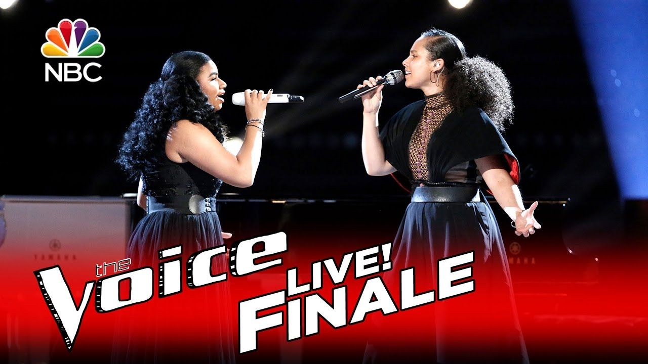 The Voice 2016 We Mcdonald And Alicia Keys Finale Ave Maria