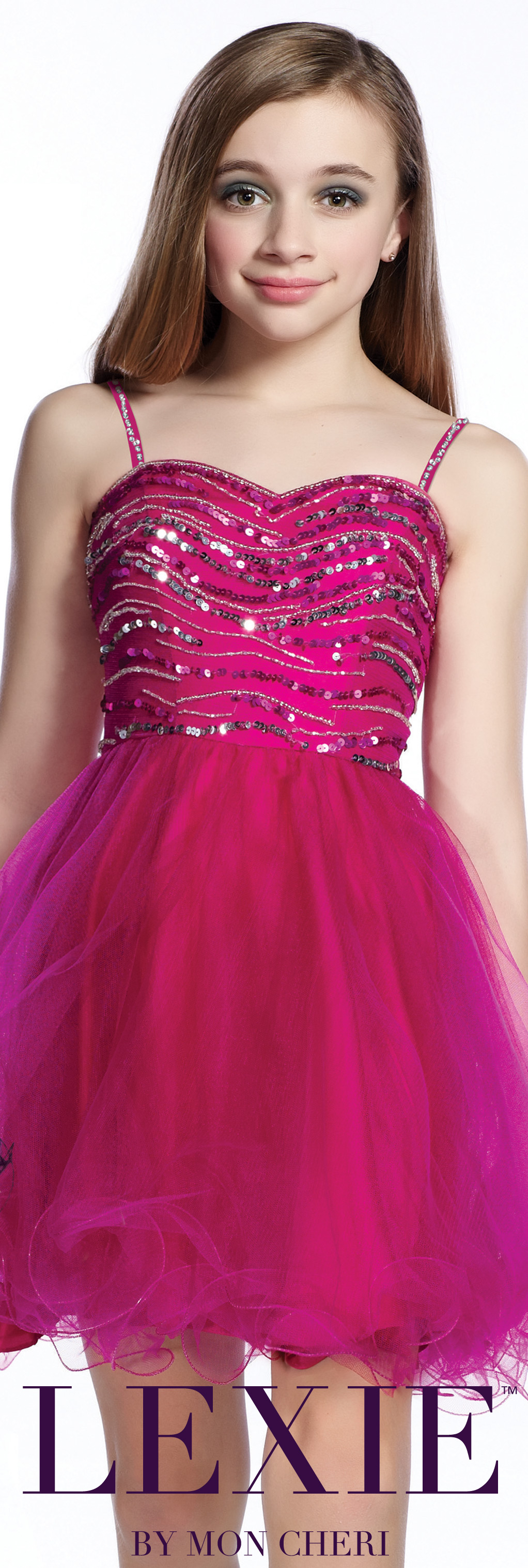 Lexie by Mon Cheri - Sheath 8th Grade Formal Dress - Style No ...