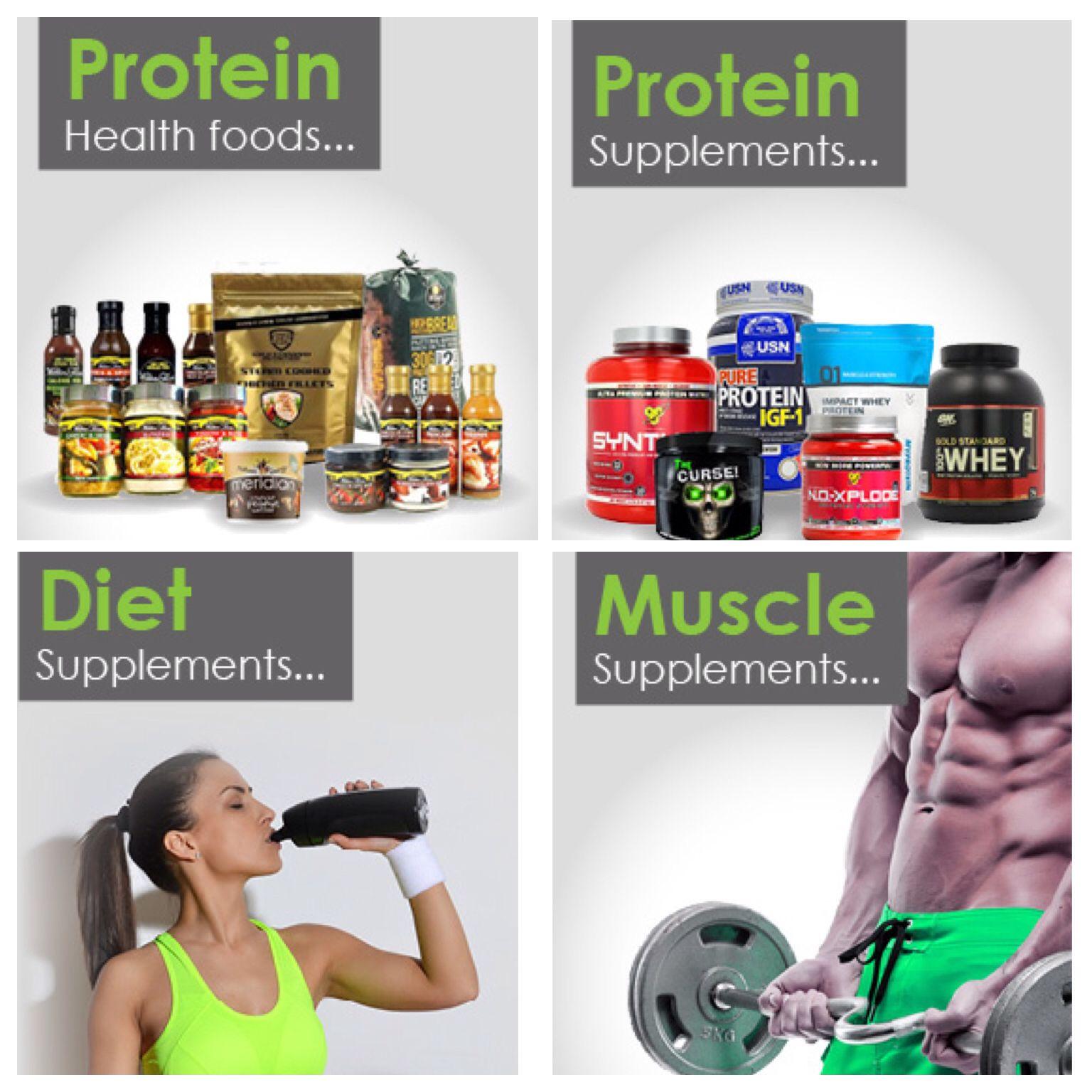 Massive range of sports nutrition & bodybuilding