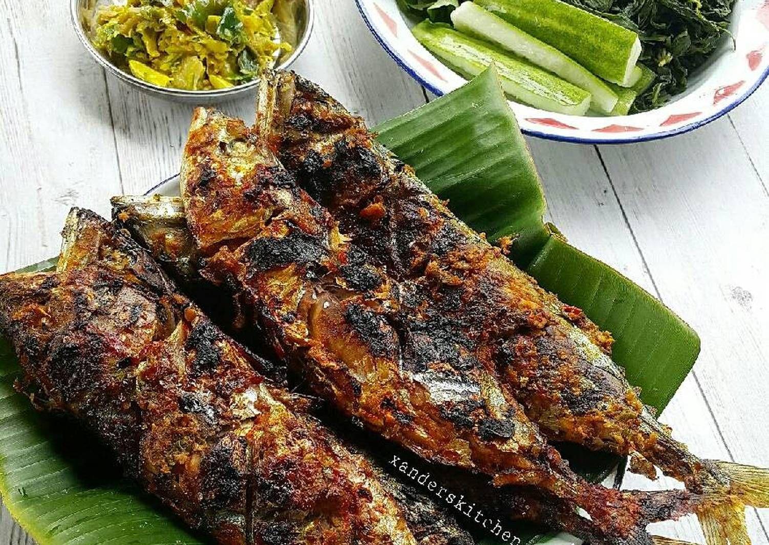 Resep Kembung Bakar Padang Oleh Xander S Kitchen Resep Resep Ikan Resep Ikan Bakar Resep