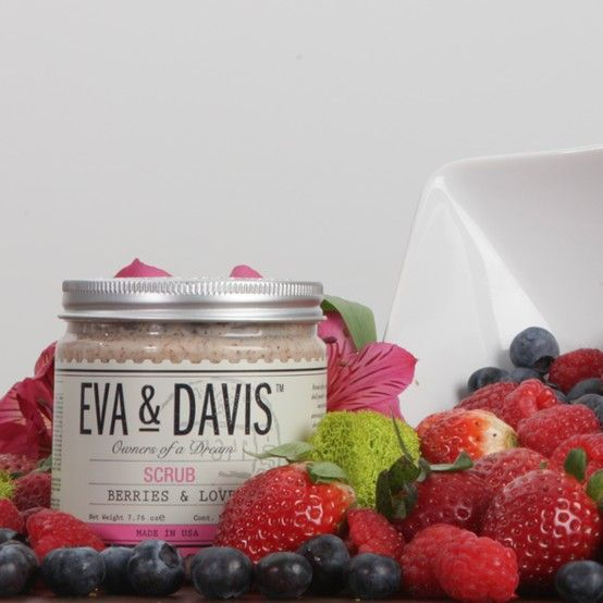 Our brand new Berries & Love Scrub!