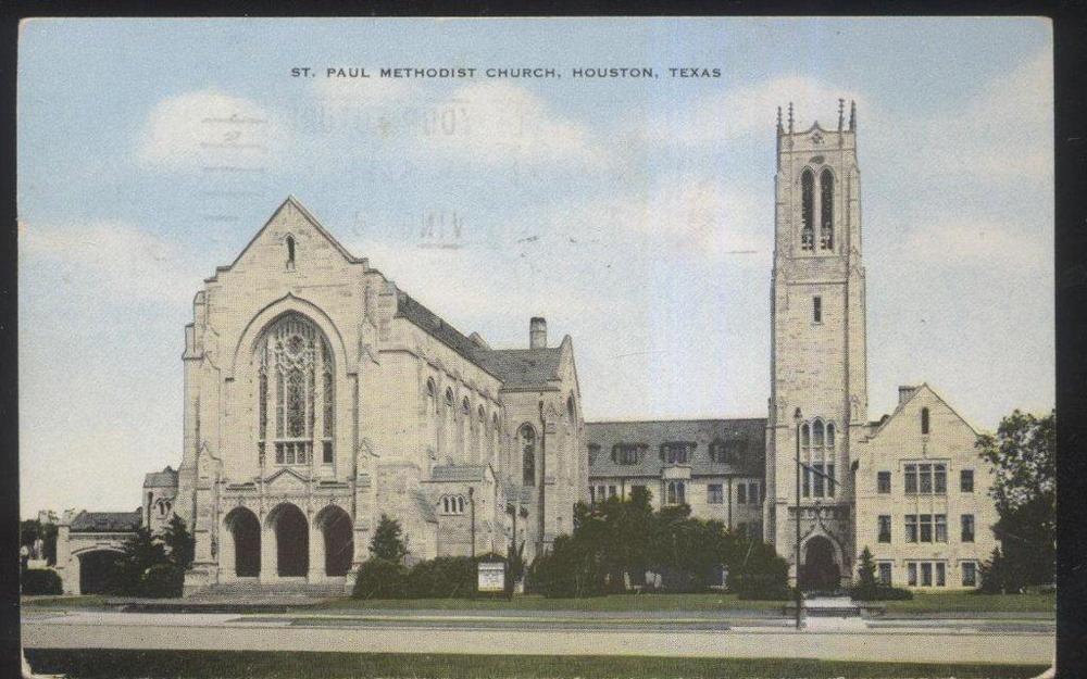Details about Postcard HOUSTON Texas/TX St Paul Methodist